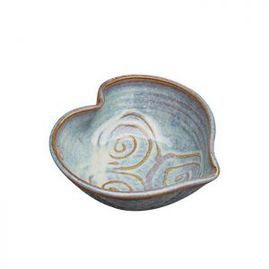 Castle Arch Green Heart Bowl - Beautiful Things Homeware
