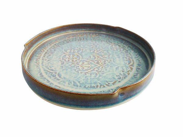 Castle Arch Oilean Green Serving Dish - Beautiful Things Homeware