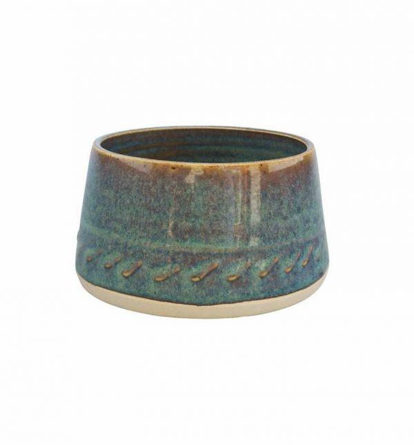 Castle Arch Oilean Green Sugar Bowl - Beautiful Things Homeware