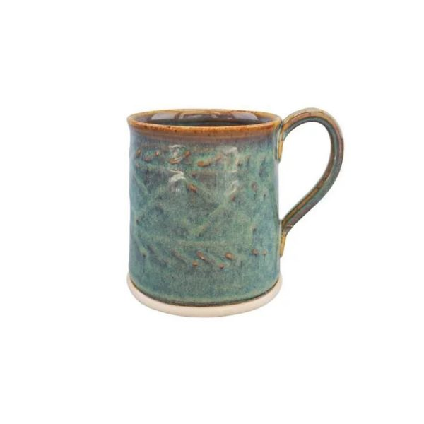Castle Arch Oilean Green Mug - Beautiful Things Homeware