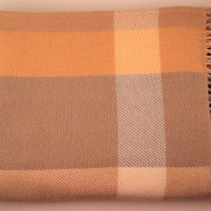 Cushendale Lambswool Abbey Throw - Sunray - Beautiful Things Textiles