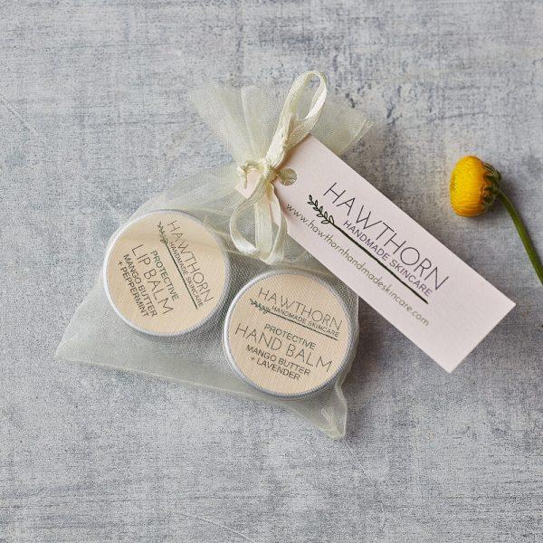 Hawthorne Handmade Skincare Hand and Lip Gift Bag - Beautiful Things Skincare